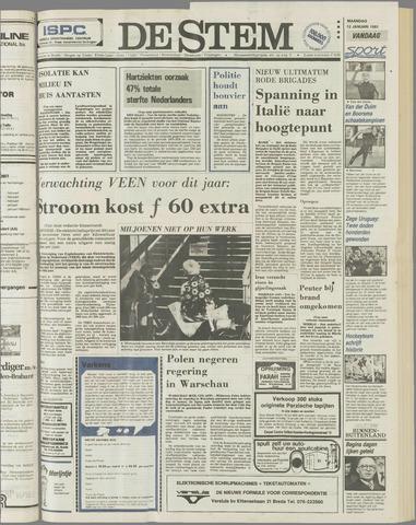 de Stem 1981-01-12
