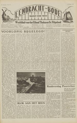 Eendrachtbode (1945-heden)/Mededeelingenblad voor het eiland Tholen (1944/45) 1949-04-22