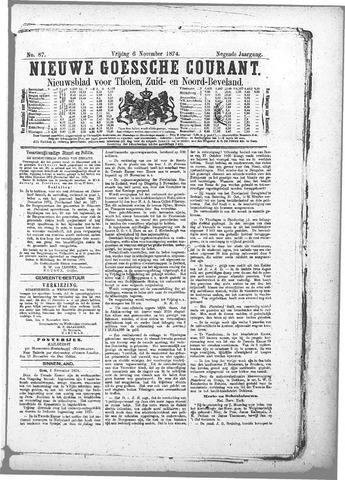 Nieuwe Goessche Courant 1874-11-06