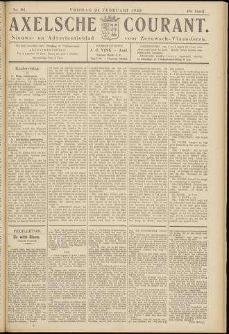 Axelsche Courant 1933-02-24