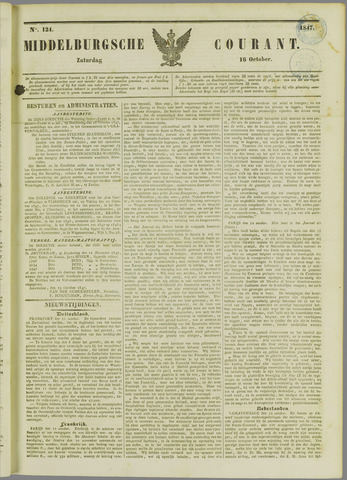 Middelburgsche Courant 1847-10-16