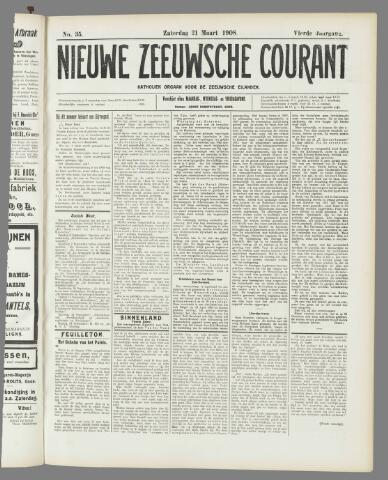Nieuwe Zeeuwsche Courant 1908-03-21