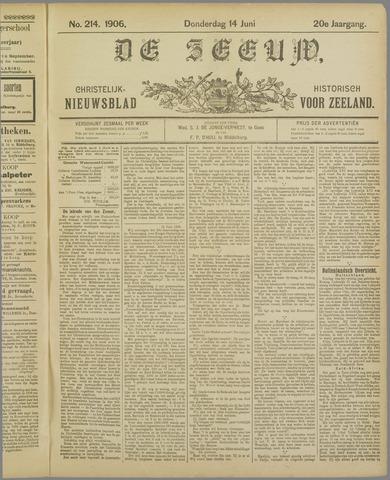 De Zeeuw. Christelijk-historisch nieuwsblad voor Zeeland 1906-06-14