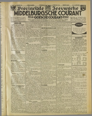 Middelburgsche Courant 1938-02-23
