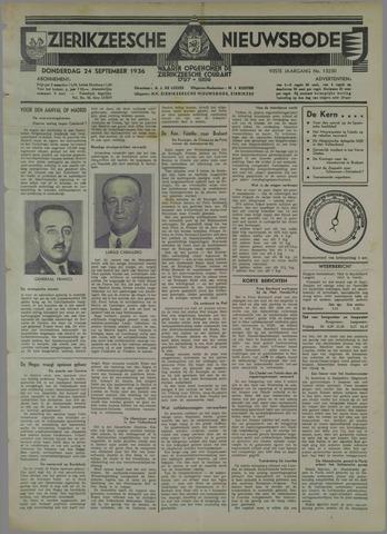 Zierikzeesche Nieuwsbode 1936-09-24