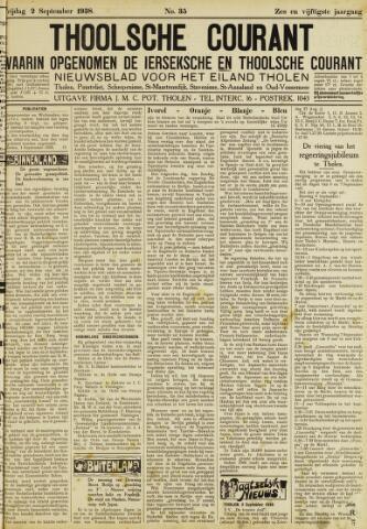 Ierseksche en Thoolsche Courant 1938-09-02