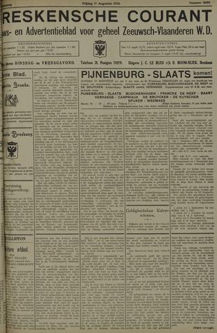 Breskensche Courant 1934-08-17