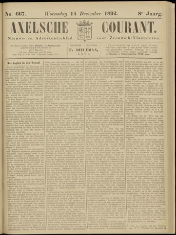 Axelsche Courant 1892-12-14