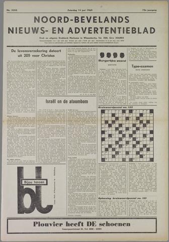 Noord-Bevelands Nieuws- en advertentieblad 1969-06-14