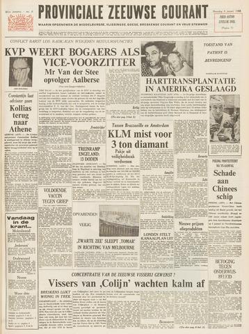 Provinciale Zeeuwse Courant 1968-01-08