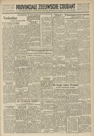 Provinciale Zeeuwse Courant 1946-12-24
