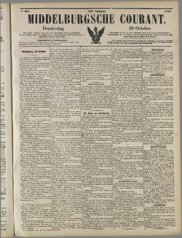 Middelburgsche Courant 1903-10-29