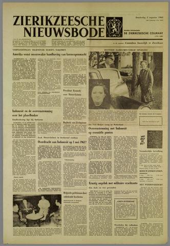 Zierikzeesche Nieuwsbode 1962-08-02
