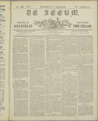 De Zeeuw. Christelijk-historisch nieuwsblad voor Zeeland 1912-08-01