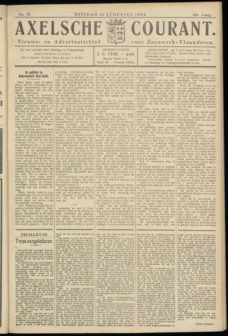 Axelsche Courant 1934-08-14