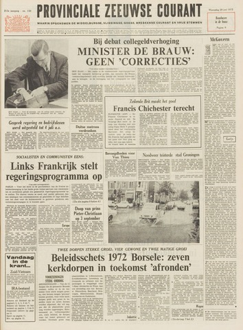 Provinciale Zeeuwse Courant 1972-06-28