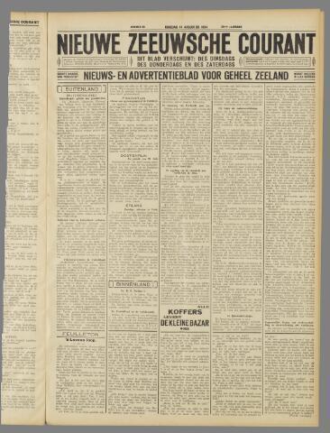 Nieuwe Zeeuwsche Courant 1934-08-14