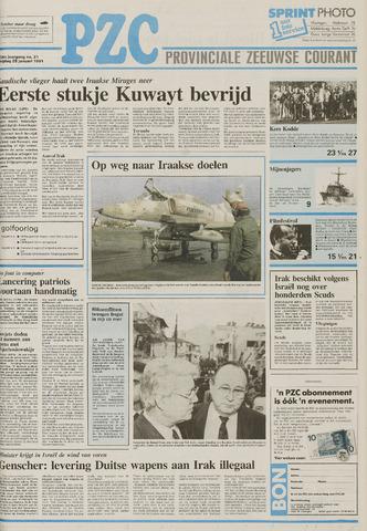 Provinciale Zeeuwse Courant 1991-01-25
