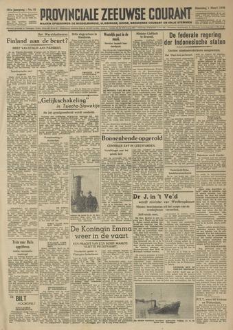 Provinciale Zeeuwse Courant 1948-03-01