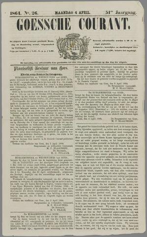 Goessche Courant 1864-04-04
