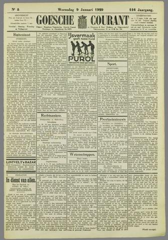 Goessche Courant 1929-01-09