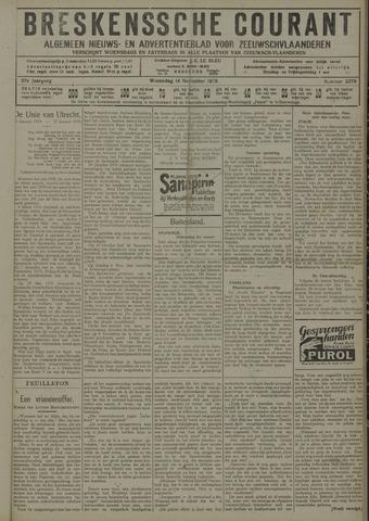 Breskensche Courant 1928-11-14