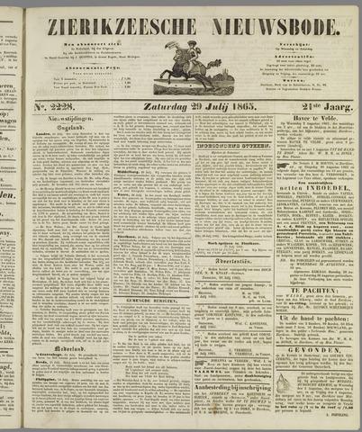 Zierikzeesche Nieuwsbode 1865-07-29