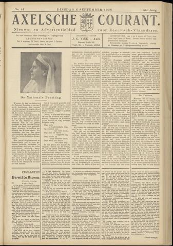 Axelsche Courant 1938-09-06