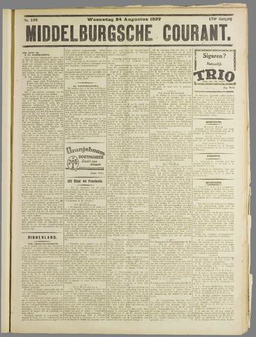 Middelburgsche Courant 1927-08-24