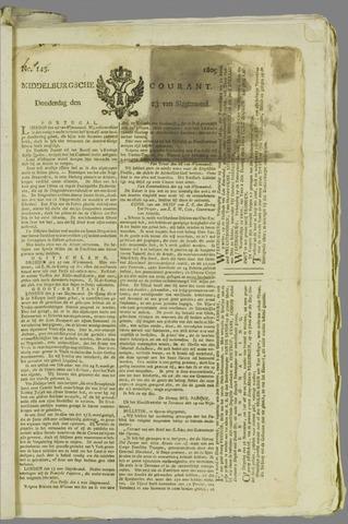 Middelburgsche Courant 1809-11-23