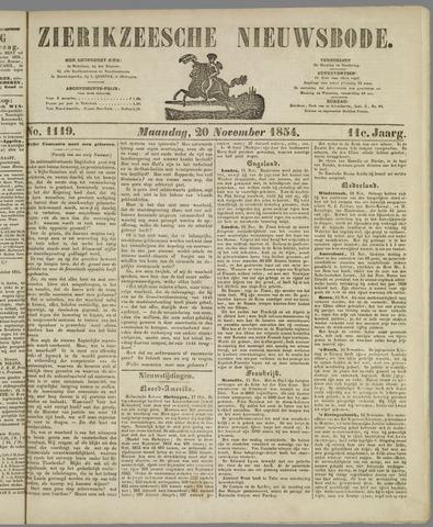 Zierikzeesche Nieuwsbode 1854-11-20