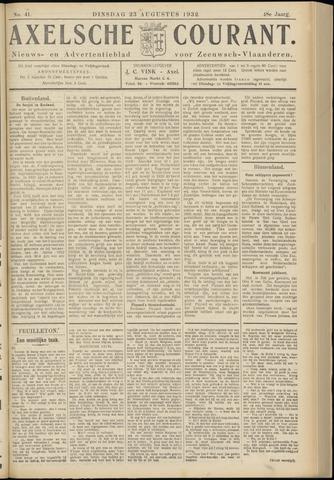 Axelsche Courant 1932-08-23