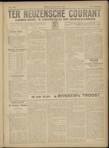 Ter Neuzensche Courant. Algemeen Nieuws- en Advertentieblad voor Zeeuwsch-Vlaanderen / Neuzensche Courant ... (idem) / (Algemeen) nieuws en advertentieblad voor Zeeuwsch-Vlaanderen 1931-03-20