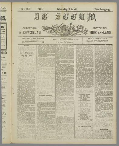 De Zeeuw. Christelijk-historisch nieuwsblad voor Zeeland 1910-04-11