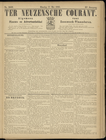 Ter Neuzensche Courant. Algemeen Nieuws- en Advertentieblad voor Zeeuwsch-Vlaanderen / Neuzensche Courant ... (idem) / (Algemeen) nieuws en advertentieblad voor Zeeuwsch-Vlaanderen 1897-05-11