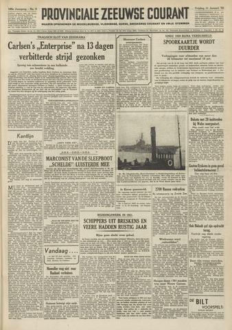 Provinciale Zeeuwse Courant 1952-01-11