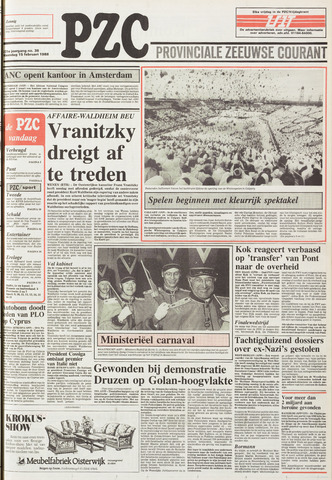 Provinciale Zeeuwse Courant 1988-02-15