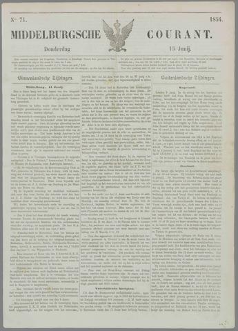 Middelburgsche Courant 1854-06-15