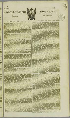 Middelburgsche Courant 1824-10-07