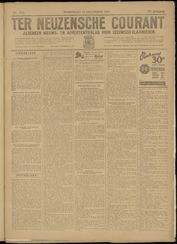 Ter Neuzensche Courant. Algemeen Nieuws- en Advertentieblad voor Zeeuwsch-Vlaanderen / Neuzensche Courant ... (idem) / (Algemeen) nieuws en advertentieblad voor Zeeuwsch-Vlaanderen 1931-12-30