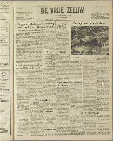 de Vrije Zeeuw 1960-01-25