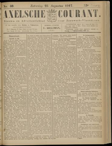 Axelsche Courant 1917-08-25