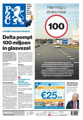 Provinciale Zeeuwse Courant 2019-11-01