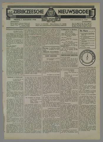 Zierikzeesche Nieuwsbode 1936-08-07