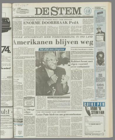 de Stem 1986-01-18