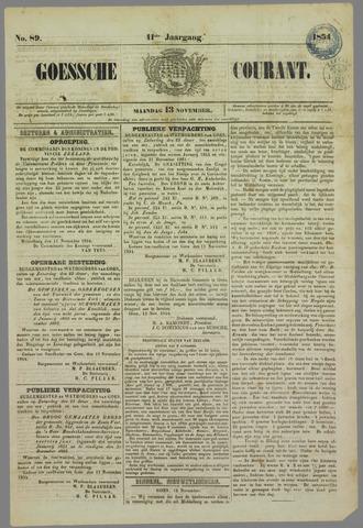 Goessche Courant 1854-11-13