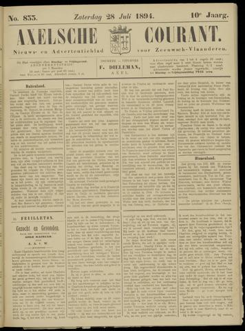 Axelsche Courant 1894-07-28