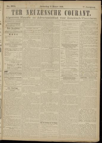Ter Neuzensche Courant. Algemeen Nieuws- en Advertentieblad voor Zeeuwsch-Vlaanderen / Neuzensche Courant ... (idem) / (Algemeen) nieuws en advertentieblad voor Zeeuwsch-Vlaanderen 1918-03-02