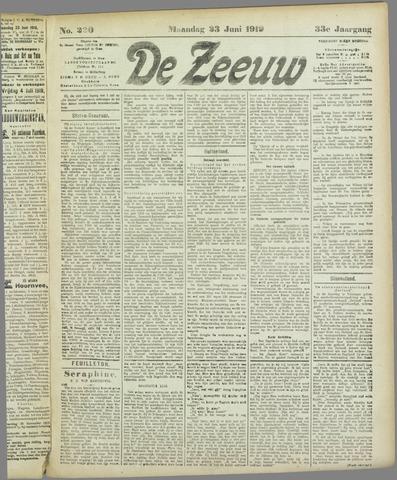 De Zeeuw. Christelijk-historisch nieuwsblad voor Zeeland 1919-06-23