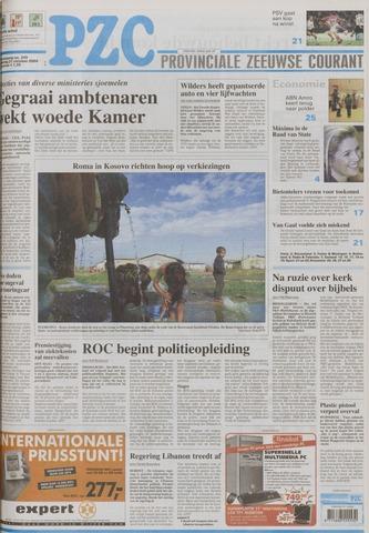 Provinciale Zeeuwse Courant 2004-10-21